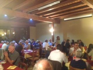 cena con le associazioni sportive di Monselice